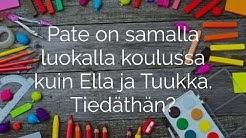 Timo Parvela: Paten aikakirjat. Tammi.