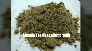 Download lagu छ छ मस ल Masala For Chaas Buttermilk MP3