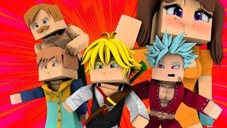 Minecraft: *NOVO* mod do NANATSU NO TAIZAI! ‹‹ JHONy3 ››