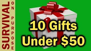 10 Outdoor and Tactical Gift Ideas Under $50 - 2018