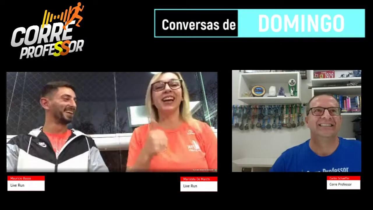 Conversas de Domingo | Com Maristela e Maurício da Live Run Assessoria