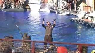 Water World show,Universal studios,Hollywood,(Impro ceļojumi)