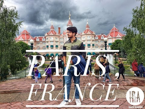 Europe Vlog | Paris , France | Eiffel Tower + Disney Land | Part 2