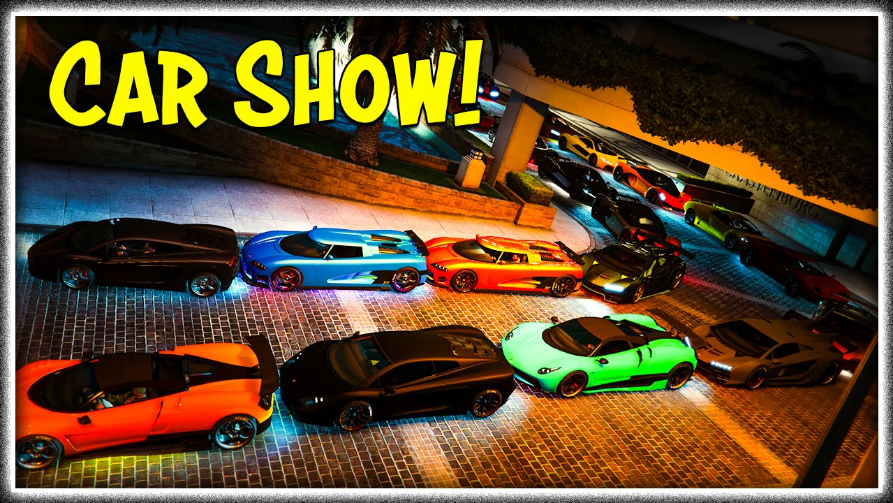 GTA Online Vanilla Car Show Bring Any Car GTA V YouTube - Any car shows near me