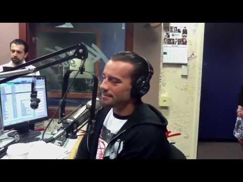 CM Punk shoots on Triple H