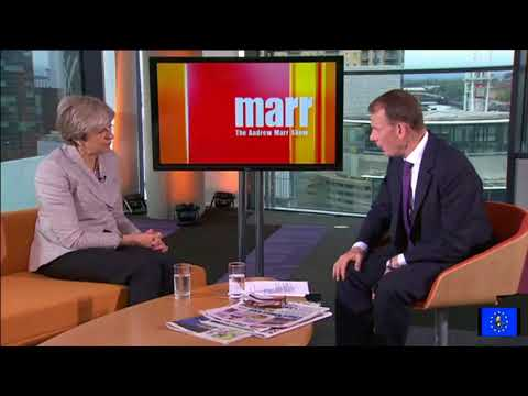 Theresa May in another car crash interview, but who can replace her?