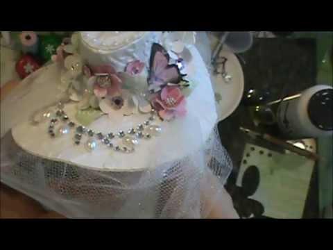 White Victorian Hat Tutorial