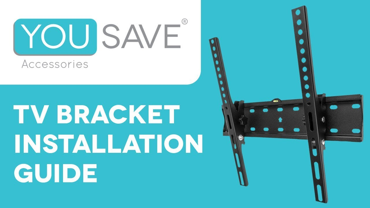 tv wall bracket installation guide the yousave accessories easy to follow wall mount tutorial