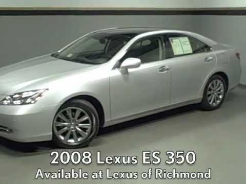 2008 Lexus Es 350 With The Ultra Luxury Package Available At Of Richmond