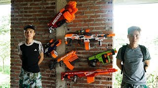 Nerf War New Martial Arts Nerf Battle Soldier Snipers NERF MOVIES