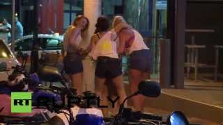Greece: Boozed up Brits go mental in Malia