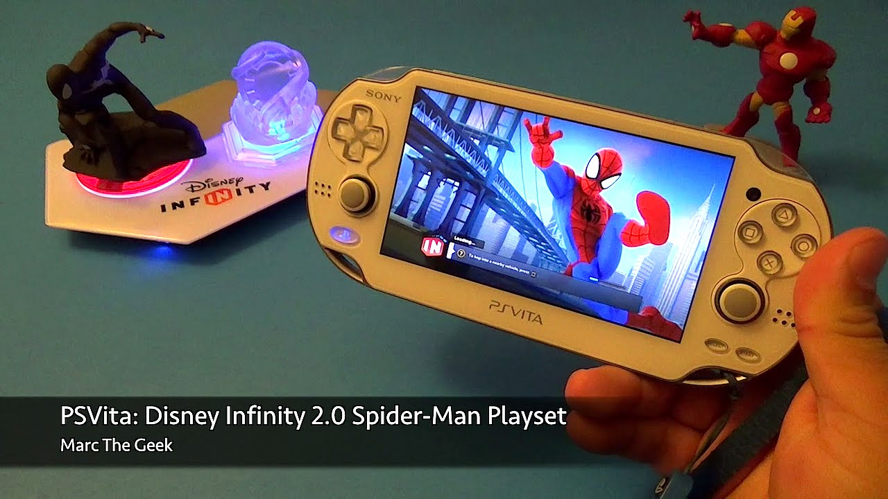 Psvita Disney Infinity 2 0 Spider Man Play Set Youtube