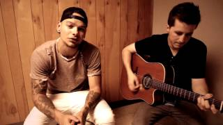 """Kane Brown - """"Almost Home"""" by Craig Morgan (acoustic) backstage @ Countryfest 2016"""