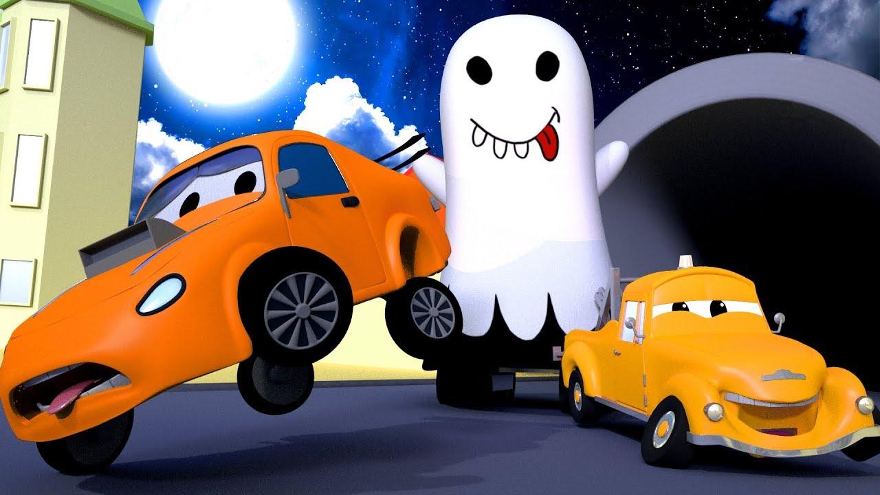 Edgar è un fantasma 💀 🎃 halloween a car city 👻 cartone