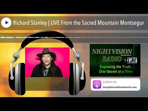 Richard Stanley | LIVE From the Sacred Mountain Montsegur