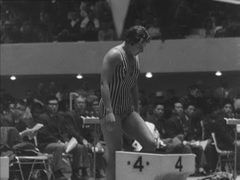 Dawn Fraser Becomes First Woman To Retain Swimming Gold - Rome 1960 OIympics