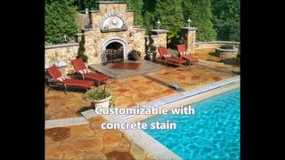 benefits of using stamped concrete overlays houston tx 281 407 0779