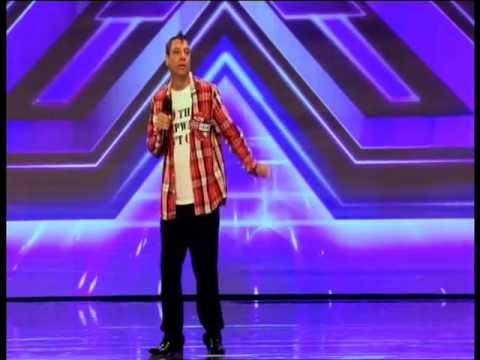 Deep Dhillon  X Factor 2011  Back For Good  FULL AUDITION