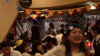 スーパードライ梅田のオクトーバーフェスト 2大イベントの1つ5L回し飲み!