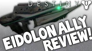 Destiny eidolon ally sucks legendary auto rifle review husk of the