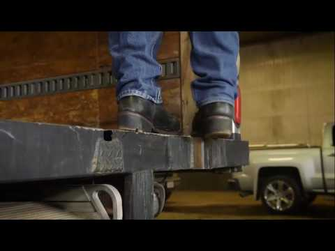 Rolson Ladders Box Truck And Trailer Video Youtube