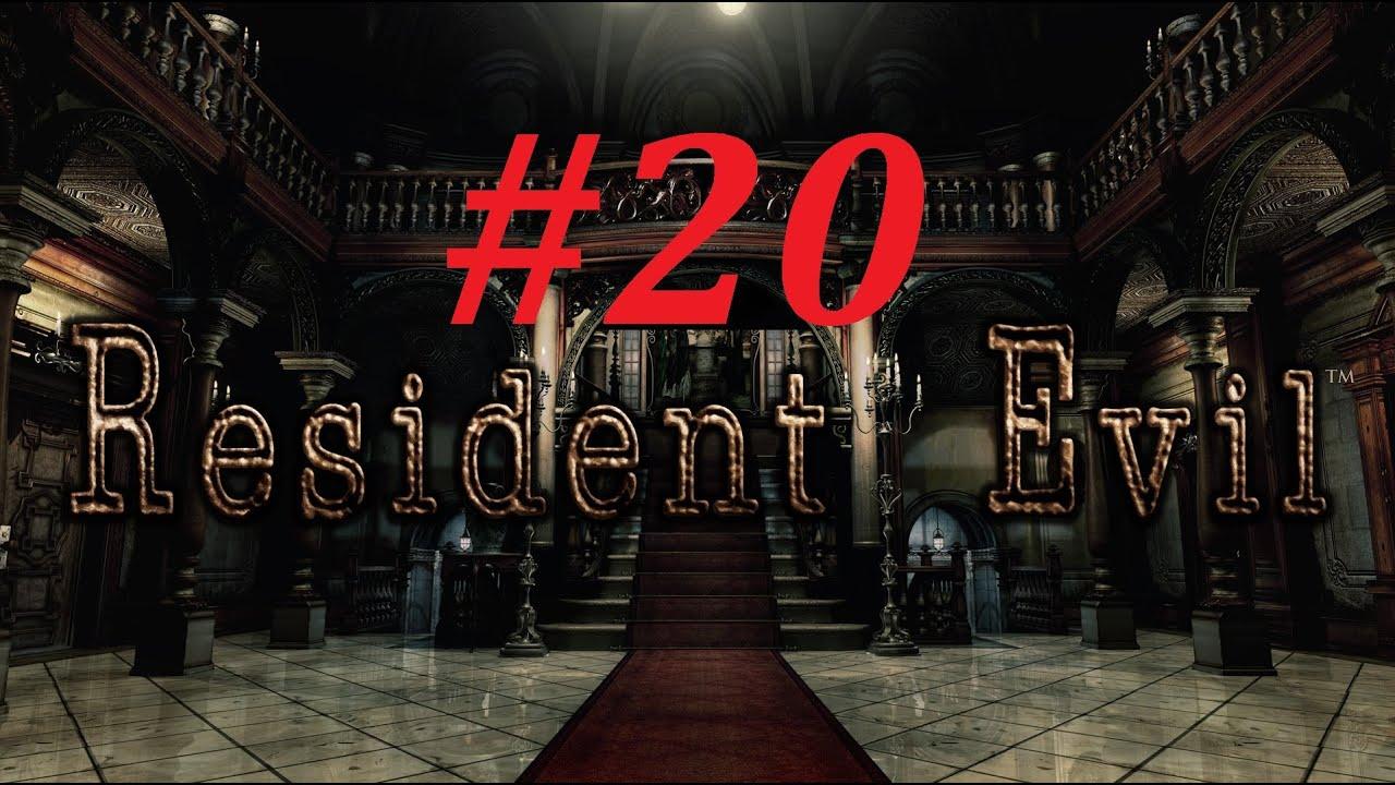 Resident evil remake chris walkthrough 20 the for Plante 42 chris