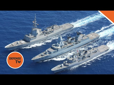 How the Frigate Compares to the Destroyer warship