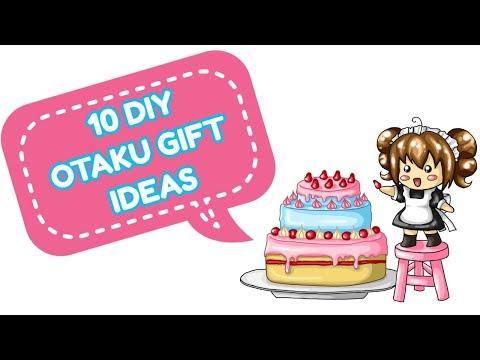 10 DIY OTAKU GIFT IDEAS
