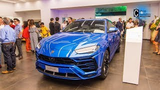 Lamborghini Urus Interior, Key and Exterior Tour