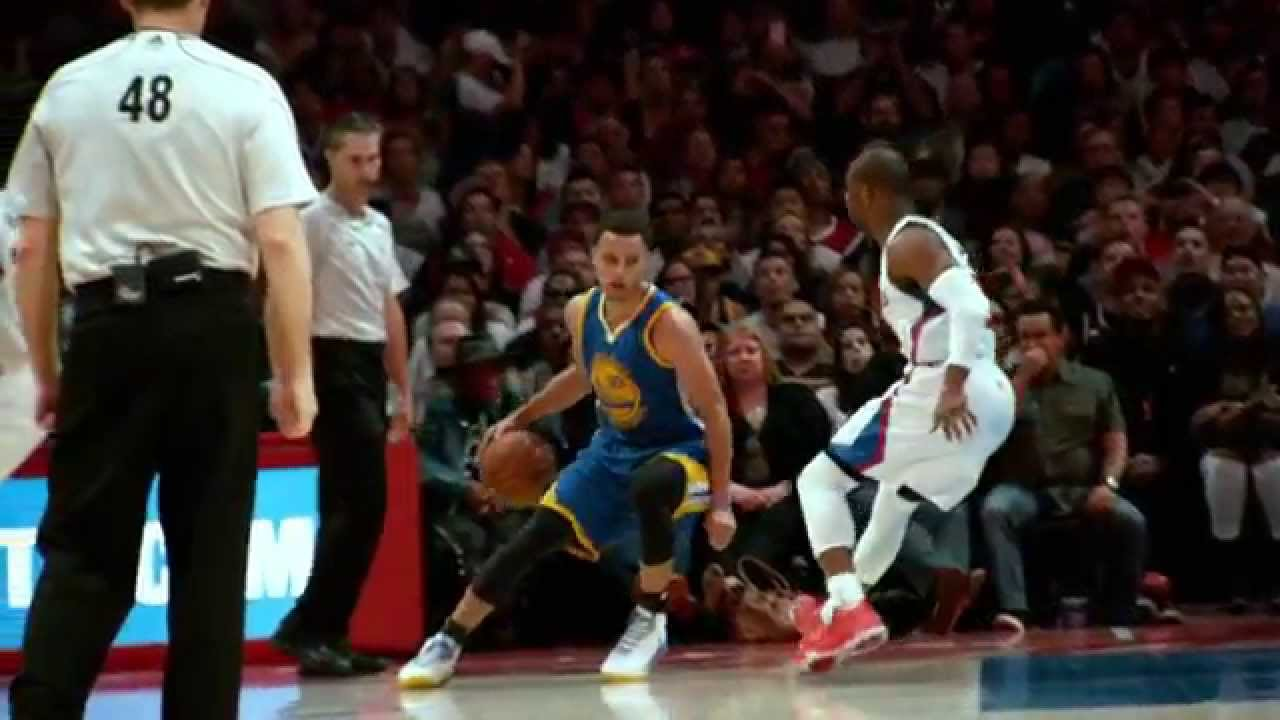 871c064a177e Steph Curry Dribbles Chris Paul into the Floor in Super Slow-Mo - YouTube