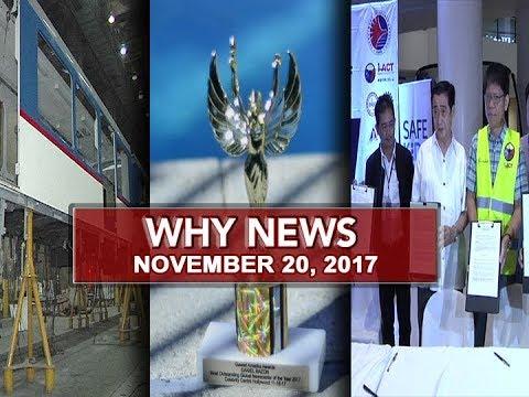 UNTV: Why News (November 20, 2017)