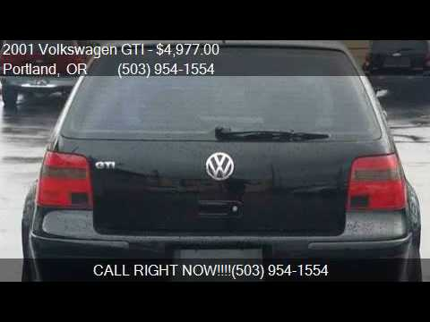 2001 Volkswagen GTI GLS 1.8T 2dr Turbo Hatchback for sale in