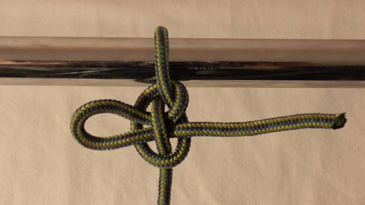 Exploding Mooring Hitch Knot  How To Tie One 20161116
