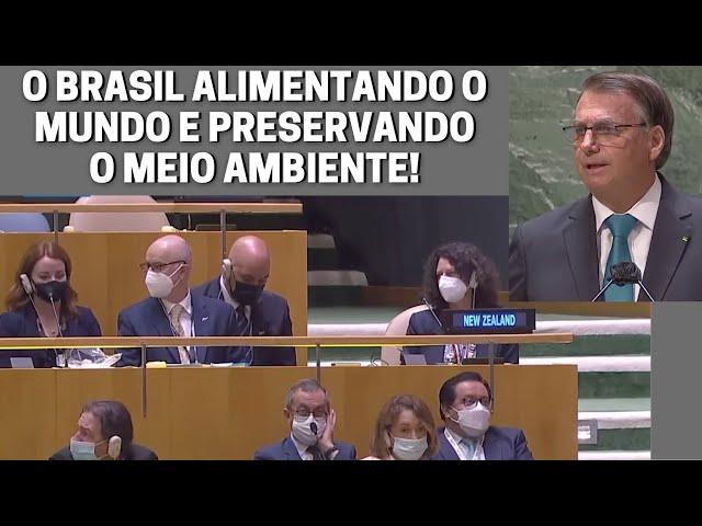 """sddefault Bolsonaro """"jogou na cara do mundo"""" que alimentamos mais de 1 bilhão de pessoas e somos líderes em preservação de meio ambiente (veja o vídeo)"""