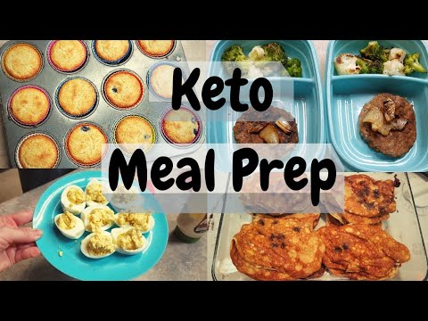 keto-weekly-batch-cooking-meal-prep-|-blueberry-muffins,-hamburgers,-chocolate-chip-pancakes