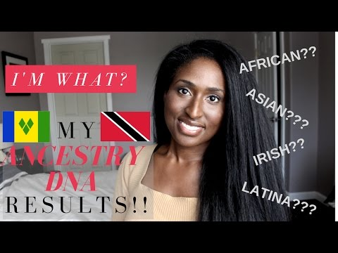 My Ancestry DNA Results ARE IN!!!! I'M WHAT??!!! Afro Caribbean Edition