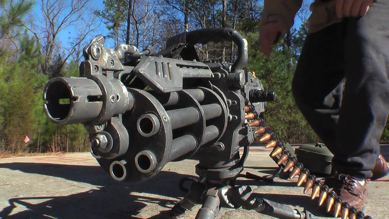 Vulcan Gun Machine Weapons