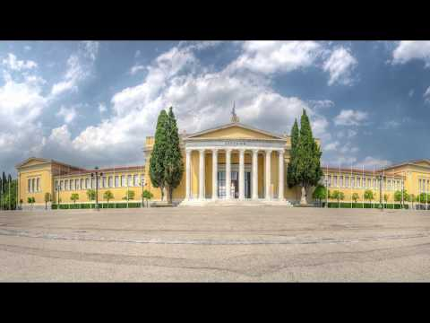 """""""Athenian Zappeion"""" in the National Garden of Athens, Greece - Panorama in FULL HD by panovistas.com"""