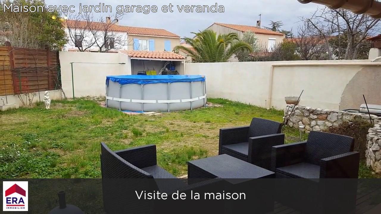 Maison avec jardin garage et veranda - YouTube