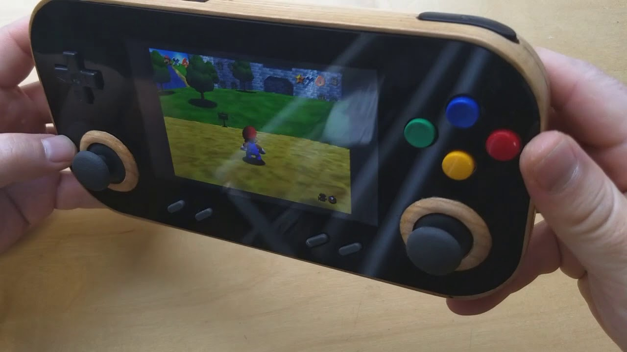 Wooden handheld game console | MakeHaven