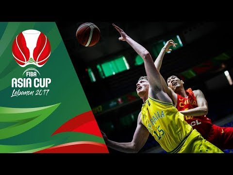 Highlights from Australia v China in Slow Motion - Quarter-Final - FIBA Asia Cup 2017