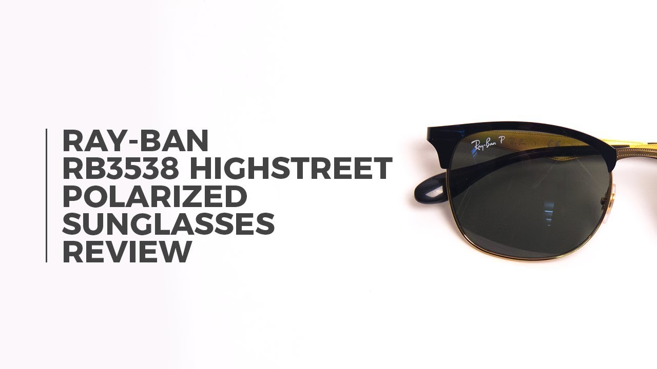 ee99c19303 Ray Ban RB3538 Highstreet Polarized Sunglasses Review ...
