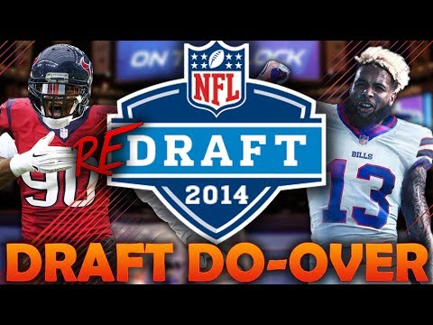 What if the 2014 NFL Draft Had a Do-Over? 2014 NFL Redraft | Madden 18 Connected Franchise