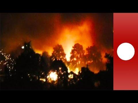 Huge explosion rocks US military base in Japan YouTube
