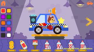 Car game for toddlers kids cars racing games [Ages 5 & Under] - Andorid
