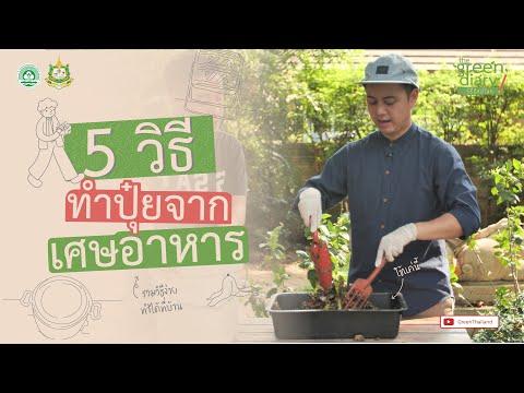 5 วิธีทำปุ๋ยจากเศษอาหาร : The Green Diary วิธีรักษ์โลก EP.9