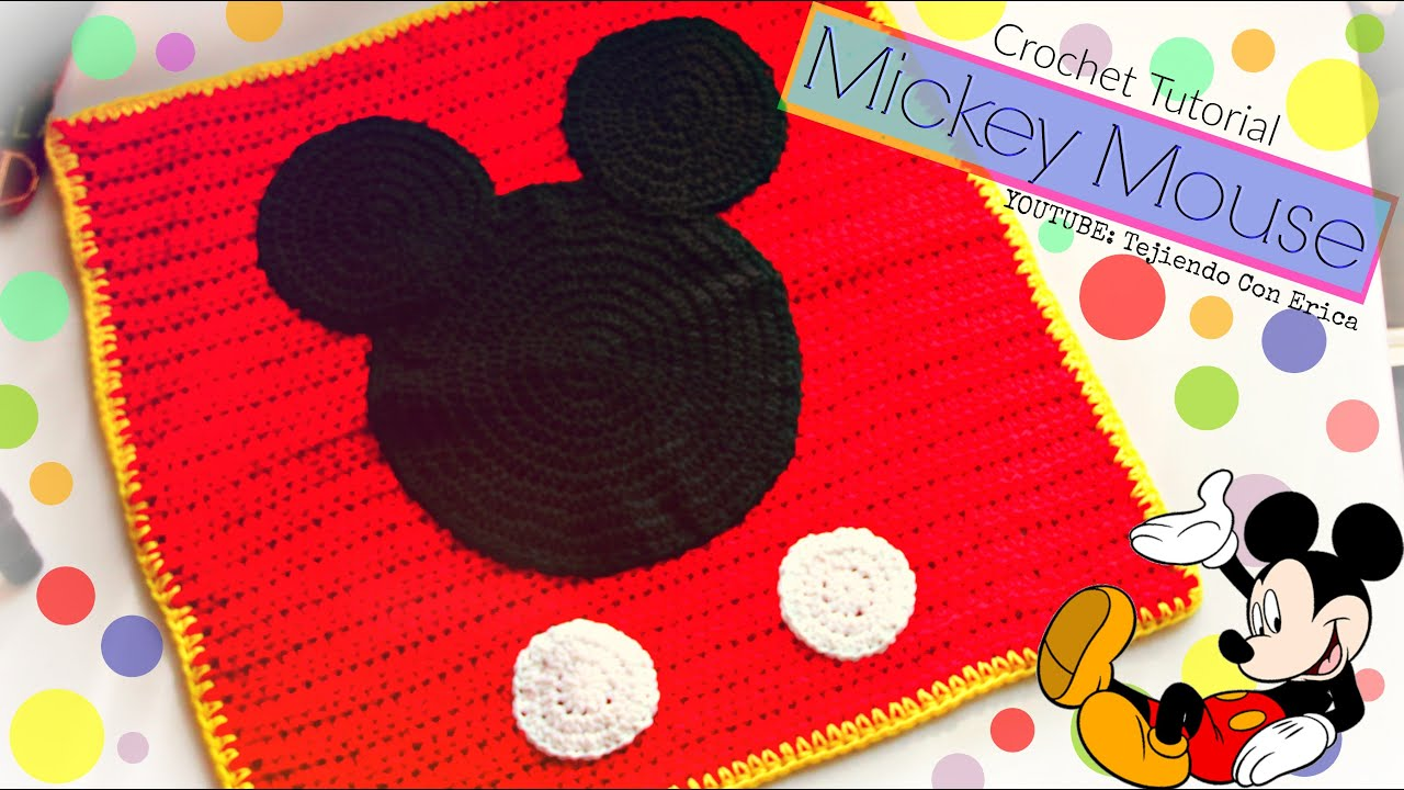 Mickey Mouse-Topolino baby Amigurumi(tutorial) - YouTube | 720x1280