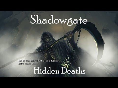 Shadowgate Hidden Deaths