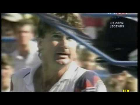 Jimmy Connors Grand Slam Highlights