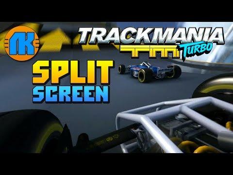 Trackmania Turbo \ Split Screen \ ГОНКИ НА ВЫЖИВАНИЕ \ СКАЧАТЬ ТРЕКМАНИЯ ТУРБО !!!